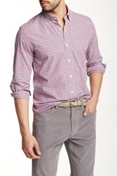J.Crew Factory Washed Tattersall Slim Shirt Multi