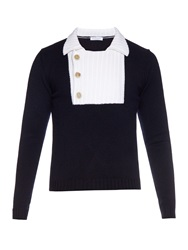 J.W.Anderson Exaggerated Placket Wool Sweater