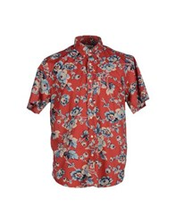 Denim And Supply Ralph Lauren Shirts Shirts Men Red