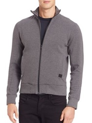 Victorinox Torrent Full Zip Sweatshirt Smokey Blue Admiral Grey