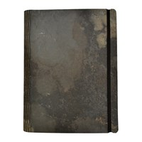 Bark And Rock Everest Stone Notebook Grey