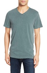 Velvet By Graham And Spencer Men's Stan Cotton Linen T Shirt