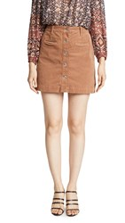 7 For All Mankind Button Front Skirt Penny