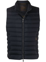 Moorer Zipped Padded Gilet 60