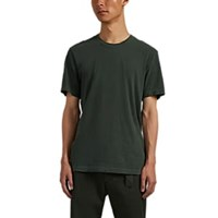 James Perse Cotton Crewneck T Shirt Green