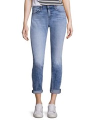 Rag And Bone Cuffed Boyfriend Jeans Acid Blue