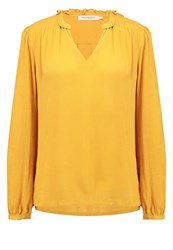 Soaked In Luxury Blake Blouse Golden Yellow
