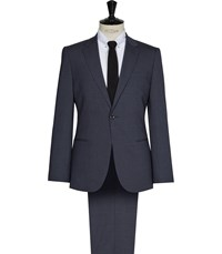 Reiss Cash Modern Fit Suit In Airforce Blue
