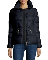 Moncler Daphne Quilted Puffer Coat Navy