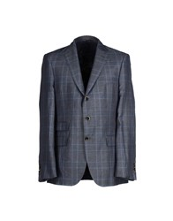Boss Black Suits And Jackets Blazers Men Slate Blue