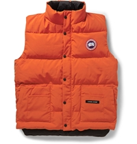 Canada Goose Freestyle Down Filled Quilted Gilet Orange