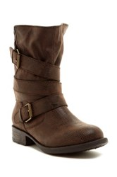 Rampage Islet Ankle Boot Brown