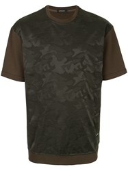 Loveless Camouflage T Shirt Green