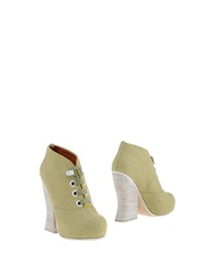 Acne Studios Shoe Boots Military Green