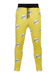 House Of Holland Ravers Joggers Yellow