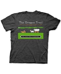 New World Oregon Trail Graphic T Shirt Black