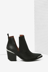 Nasty Gal Cromwell Bootie Matte Leather
