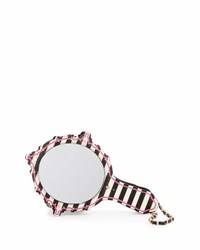Betsey Johnson Kitsch Mirror Striped Wristlet Multi