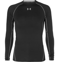 Under Armour Heatgear Compression T Shirt Black