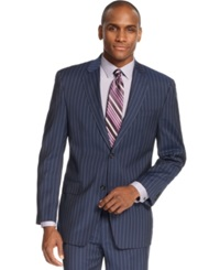 Sean John Blue Striped Jacket