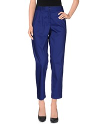 Liviana Conti Casual Pants Blue