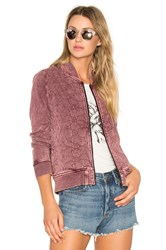 Rvca Bloom Bomber Red