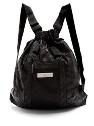 Adidas By Stella Mccartney Gym Backpack Black