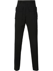 J.W.Anderson J.W. Anderson Oversized Pocket Slim Trousers Black