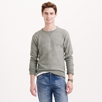 J.Crew Tall Solid Sweatshirt In Graphite