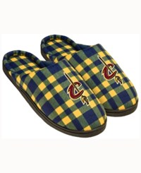 Forever Collectibles Cleveland Cavaliers Flannel Slide Slippers Red