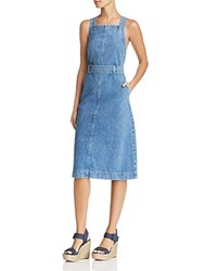 Dl1961 Roxanne Denim Apron Dress Chapel