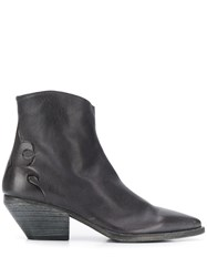 Officine Creative Embossed Detail Ankle Boots 60