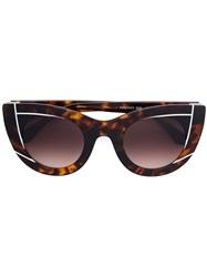 Thierry Lasry Chromaty Sunglasses Brown