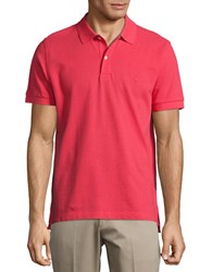 Brooks Brothers Classic Cotton Polo Red
