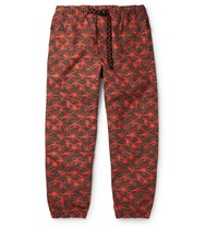 Nike Acg Nrg Tapered Printed Shell Cargo Pants Red