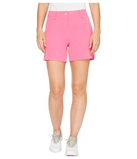 Puma Solid Shorts 5 Shocking Pink Women's Shorts