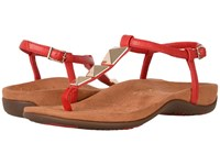 Vionic Nala High Risk Red Caramel Women's Dress Sandals