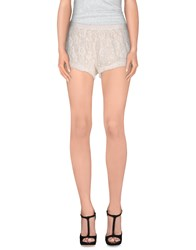 Dry Lake. Trousers Shorts Women Ivory