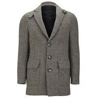 Knutsford Men's Suede Trim New Wool Blazer Grey