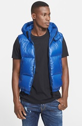 Dsquared Down Puffer Vest Blue