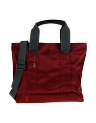 Mh Way Handbags Maroon