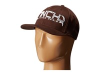 Cinch Mid Profile Athletic Shape Brown Caps