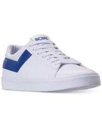 Pony Top Star Lo Core Casual Sneakers From Finish Line White Royal