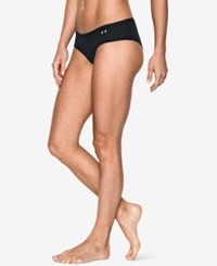 Under Armour Pure Stretch Sheer Hipster Underwear Black