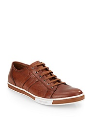 Kenneth Cole Brand Width Leather Sneakers