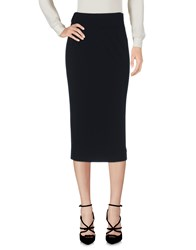 Leonard Paris 3 4 Length Skirts Black