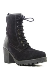 Chelsea Crew Bond Suede Lace Up Boot Black