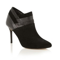 Ravel Oakland Ankle Boots Black Leather