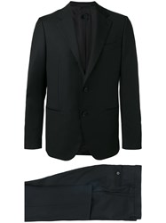 Caruso Single Breasted Formal Suit Blue