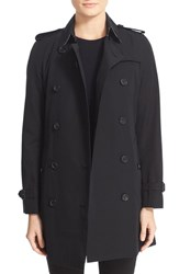 Burberry Women's London 'Kensington' Double Breasted Trench Coat